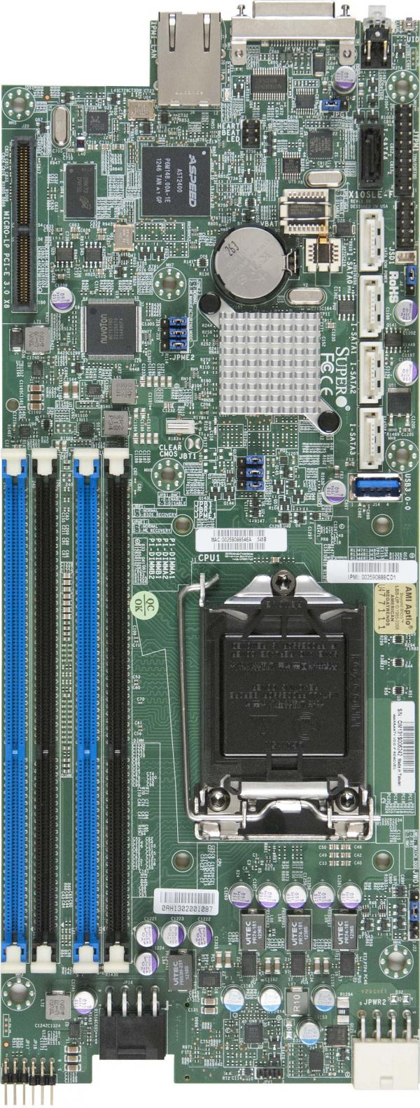 Supermicro Motherboard Xeon Boards X10SLE-F